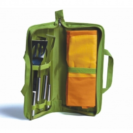 Barbecue Set with Apron -50%