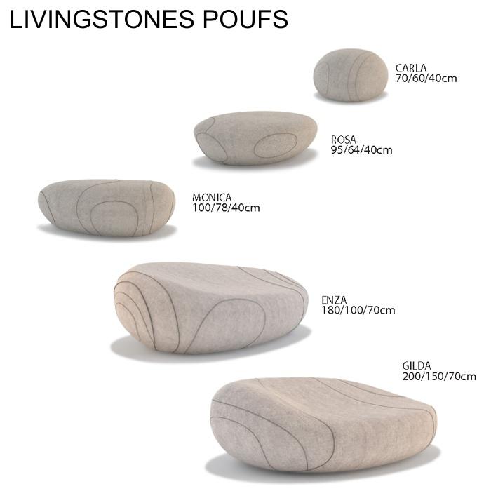 pouf livingstones smarin carla 20. Black Bedroom Furniture Sets. Home Design Ideas
