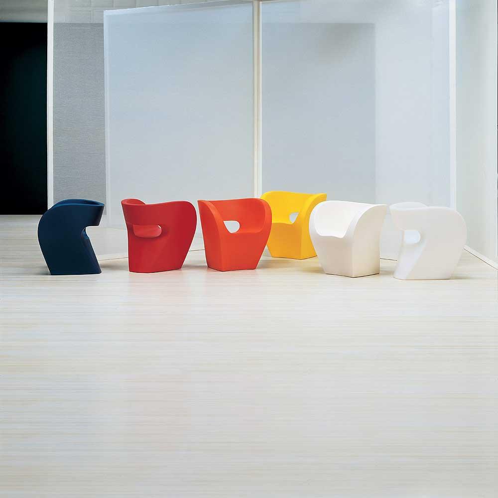 little albert petit fauteuil de ron arad pour moroso. Black Bedroom Furniture Sets. Home Design Ideas
