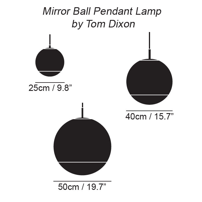 Mirror ball hanglamp tom dixon - Tom dixon catalogus ...