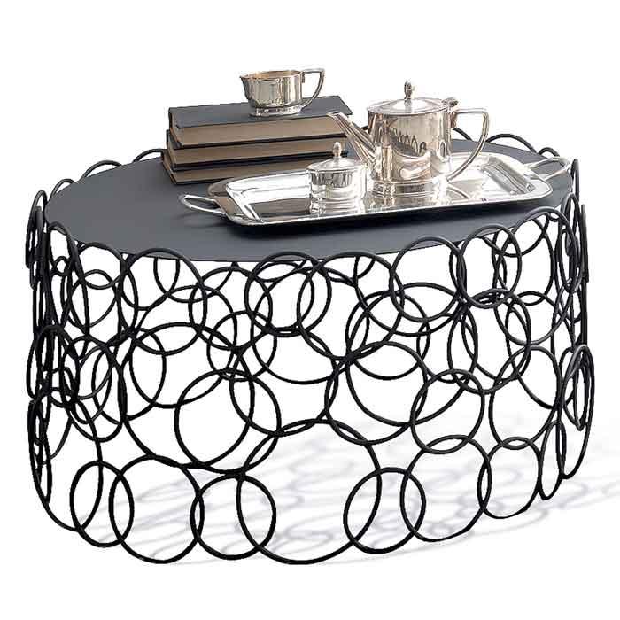 Table basse fer argent tous les objets de d coration sur for Table basse argent