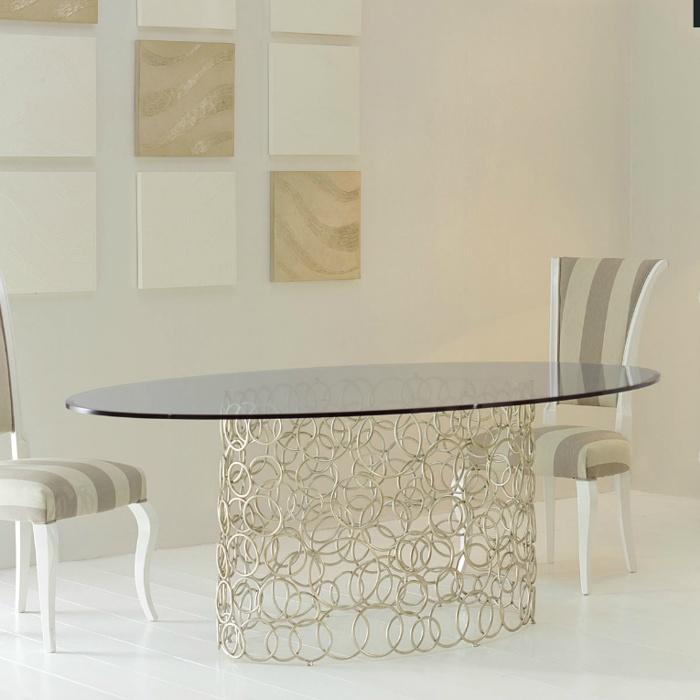 Mondrian ovale tafel cantori - Tafel salle a manger ontwerp ...