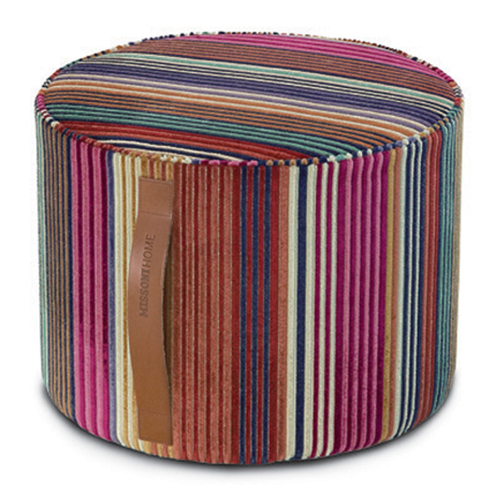 Missonihome On Sayduck: LIBERTAD Cylinder Pouf
