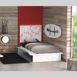 Design kopfende loveflower dinx 39 s for Hotel decor pikolin