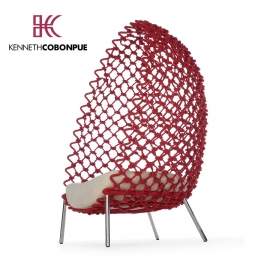 Chaise Longue Dragnet de Kenneth Cobonpue