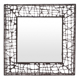 CU-C ME square mirror by Kenneth Cobonpue