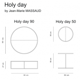 Holy Day coffee table - Jean-Marie Massaud -40%