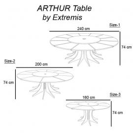 Arthur tisch extremis - Mobel transportieren lassen ...