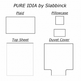 PURE IDIA - 100% Satin Bed linen